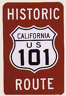 Bicycling On Old US In San Diego County - Us highway 101 map